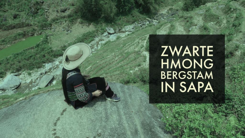 Zwarte Hmong Bergstam in Sapa